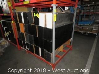(1) 5'x4'x5' Portable Stack Rack (Rack Only)