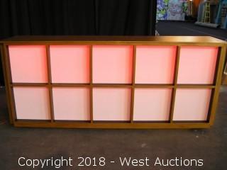 Light-Up Bar Counter