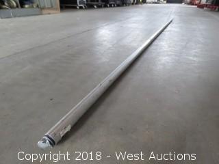 """1 1/2"""" Drapery Telescopic Support Pole 9'-16'"""