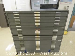 Mayline C-File Flat Drawer File Cabinet