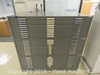 Mayline C-file Flat Drawer File Cabinet.