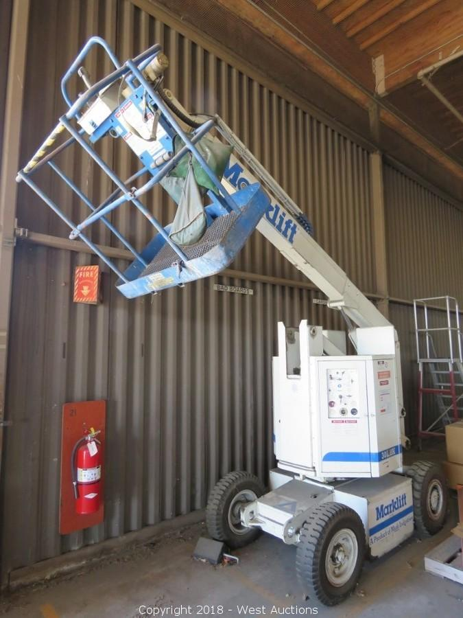 Online Auction Of Marklift 30kbn 30' Electric Boom Lift ‹›: Marklift Wiring Diagrams At Jornalmilenio.com