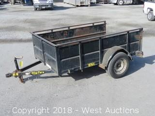 2003 Big Tex 30SV 8' Utility Trailer