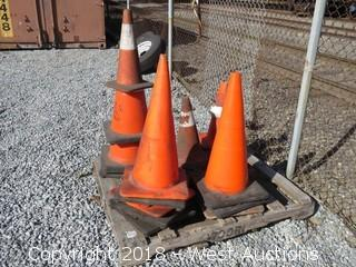 (20) Construction Cones