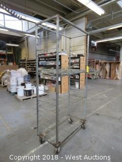 6' Metal Crate Cart