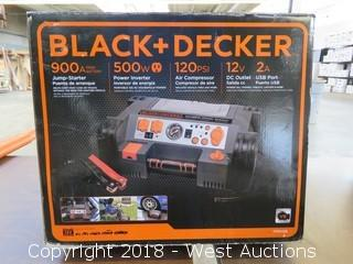 Black and Decker Jumper Box/Air Compressor