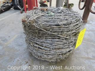 Spool of Barbed Wire
