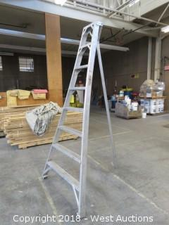 8' Aluminum Orchard Ladder