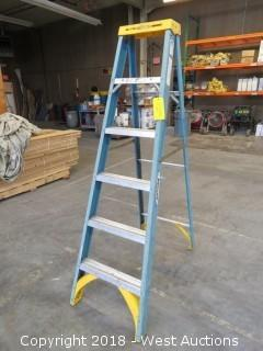 Werner 6' Fiberglass Folding Ladder