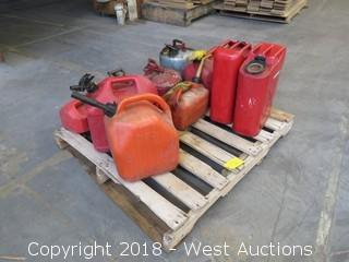 (10) Gasoline Cans