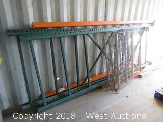 (1) Section Of 11' Pallet Racking (Disassembled)