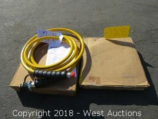 (2) Enerpac WP 700 Series E6 Hoses