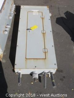 Eaton Industrial Panel Box With Breakers