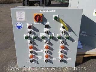 Hoffman A24N24MP Electrical Control Panel