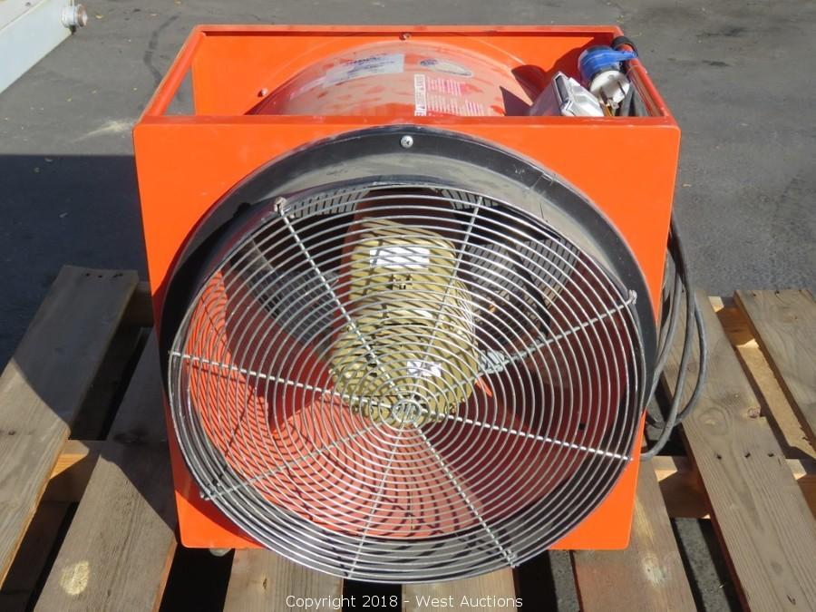 Online Auction of Sea Container, Air Compressor, Scaffolding, Generators, and More in Woodland, CA