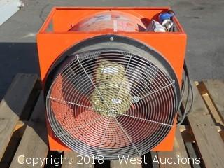 "Allegro 20"" 2 HP Industrial Fan"
