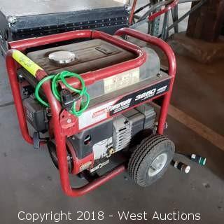 Coleman Powermate 3250 Portable Gas Generator