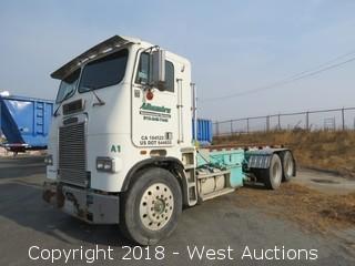 1987 Freightliner Roll Off Bin Truck