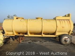 West-Mark 2,700 Gallon Roll-Off On Site Water Tank Trailer