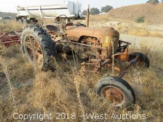 Case Vintage Tractor (Not Running)