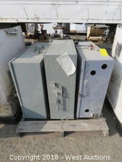 (3) Heavy Duty Commercial Breaker Boxes