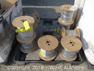 (9) Spools Of Coax Cable