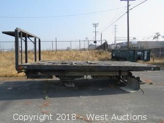THS 16' Truck Scissor Lift Flatbed