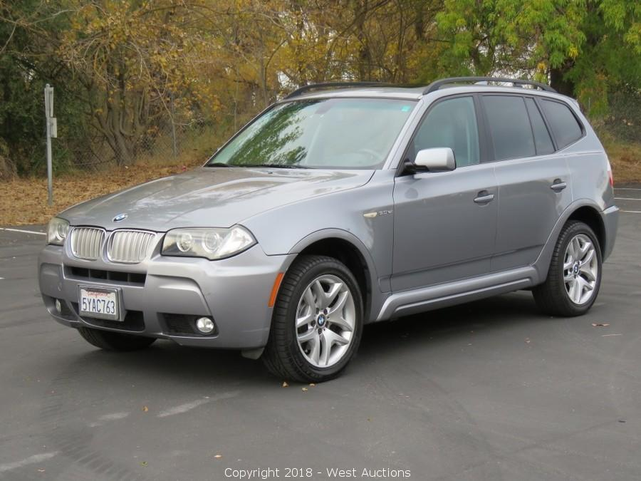 Online Bankruptcy Auction of a 2007 BMW X3 3.0si