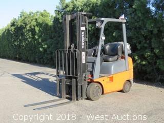 Toyota 3,250 LB Capacity Propane Forklift