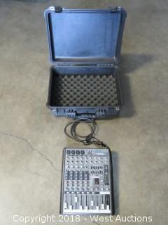 Mackie ProFX8 Professional Mic/Line Mixer With Road Case
