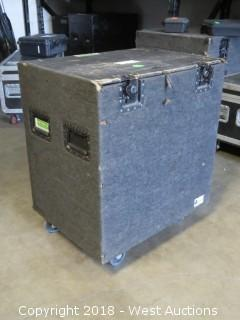 (3) Piece Stage Skirt Set With Portable Road Case