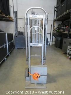 """(13) 16"""" Drape Plates With Hand Truck"""