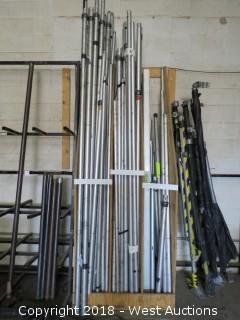 (29) Drape Telescoping Poles