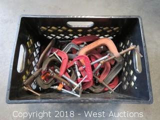 (37) C- Clamps