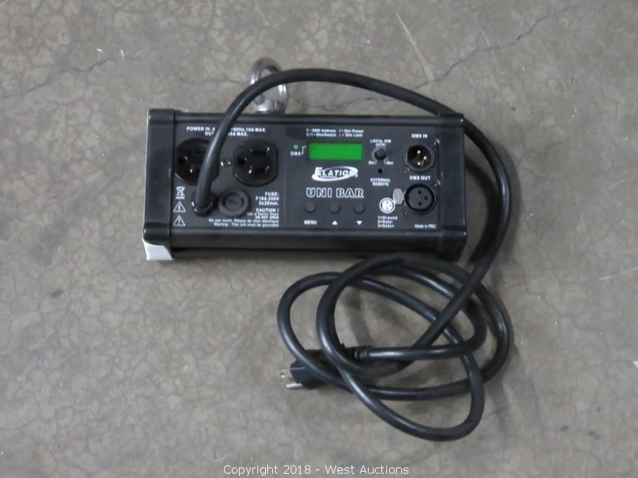 West Auctions Auction Online Auction Of Sound Stage And