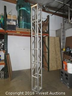 Show Solutions 10' x 1' Aluminum Stage Truss