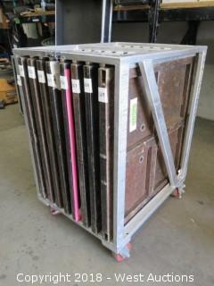 Aluminum Truss Plate Organizer Cart (No Plates)