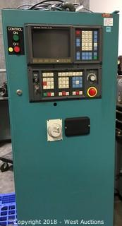 Fanuc 0M CNC Controller, 4-Axis, with Motors and Stage