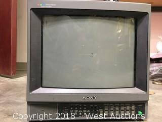 Sony Trinitron Monitor and Scienscope Video Camera