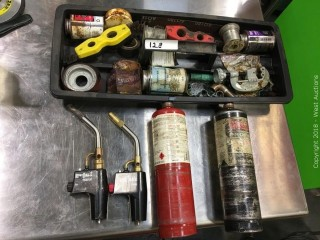 Propane Torches, Solder and Plumbing Tools