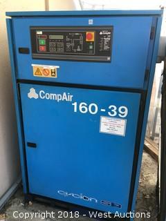 CompAir Cyclon 345SR Rotary Screw Air Compressor