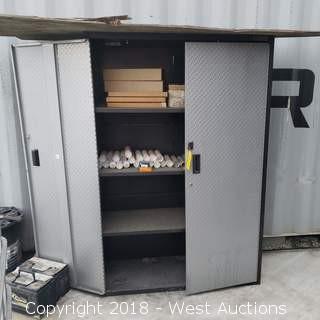 """Gladiator Storage Cabinet 6' x 4' x 17"""""""