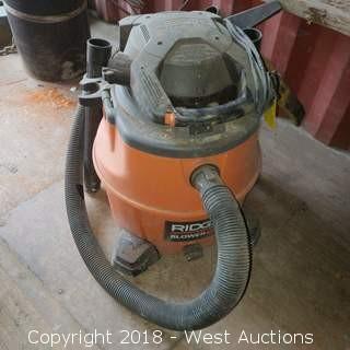 Ridgid 16 Gallon Blower Vac