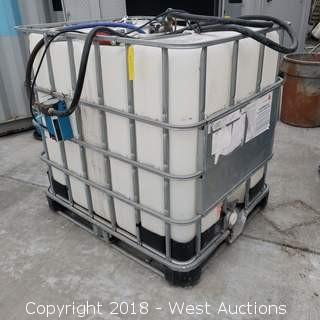 Chemical Tank and Hybrid Pallet