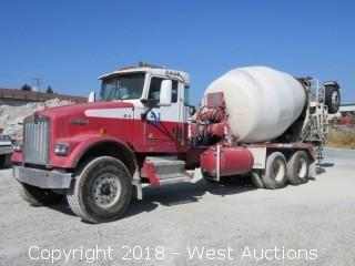 2003 Kenworth W900 Mixer Truck with McNeilus 11 Cy Mixer