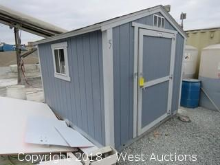 Tuff Shed 10' x 8' x 8' with Contents