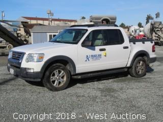 2007 Ford Explorer 4x4 Sport Trac XLT