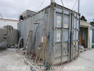 """Sea Container 23' x 8' x 113"""""""