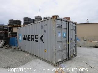 """Sea Container 21' x 8' x 102"""""""