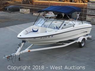 2003 Bayliner 175 Bowrider 16' Boat with Trailer